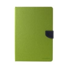 Pouzdro MERCURY Fancy Diary pro Apple iPad Pro 10,5 - stojánek a prostor na doklady - zelené / modré