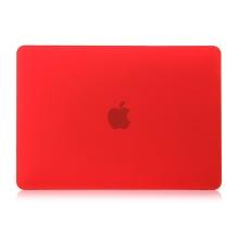 """Obal / kryt pro MacBook Air / Air M1 (2018-2021) 13"""" (A1932, A2179, A2337) - plastový - červený"""