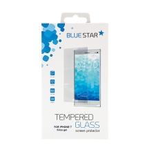 Tvrzené sklo (Tempered Glass) BLUE STAR pro Apple iPhone 7 / 8 - silikonový okraj - tl. 0,3mm / 2,5D