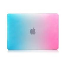 "Obal / kryt pro Apple MacBook Air / Air M1 (2018-2021) 13"" (A1932, A2179, A2337) - plastový - barevný přechod - růžový / modrý"