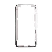 Rámeček předního panelu pro Apple iPhone Xs - plastový - černý - kvalita A+
