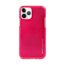 Kryt MERCURY iJelly pro Apple iPhone 11 Pro - gumový - růžový - matný