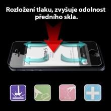 Super odolná ochranná fólie pro Apple iPhone 5 / 5C / 5S / SE - anti-shock - přední a zadní