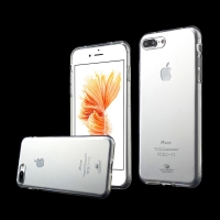 Kryt MERCURY Jelly pro Apple iPhone 7 Plus / 8 Plus - gumový - průhledný