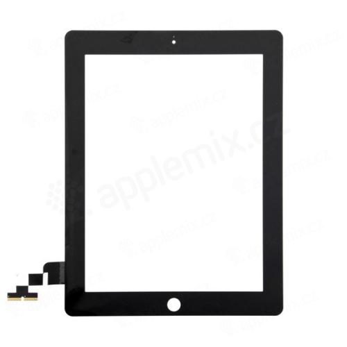 Přední dotykové sklo (touch screen) pro Apple iPad 2.gen. - bílý rámeček