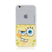Kryt Sponge Bob pro Apple iPhone 6 / 6S - gumový - potutelný Sponge Bob