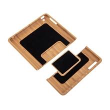 Kryt pro Apple iPad 2 / 3 / 4 - pevný - bambusové dřevo - světle hnědý