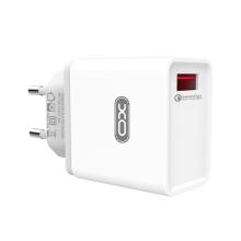 Nabíječka / adaptér XO pro Apple iPhone / iPad - 1x USB - 18W - EU - bílá