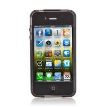 Ochranný kryt / pouzdro pro Apple iPhone 4 / 4S kosodelníkový - šedý