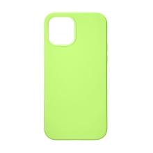 Kryt TACTICAL Velvet Smoothie pro Apple iPhone 12 Pro Max - příjemný na dotek - silikonový - avokádově zelený