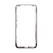 Rámeček předního panelu pro Apple iPhone X - plastový - černý - kvalita A+