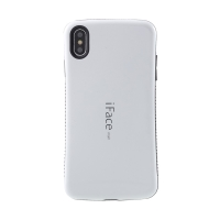 Kryt iFACE pro Apple iPhone Xs Max - plastový / gumový - bílý