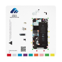 Magnetická podložka pro šroubky Apple iPhone 4S (rozměr 20x20cm)