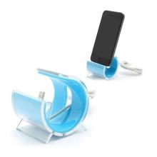 Designová dokovací stanice (dock) s Lightning kabelem pro Apple iPhone / iPod - modrá