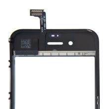 Dotykové sklo (touch screen digitizér) pro Apple iPhone 4 - černé - kvalita A