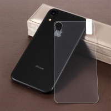 Tvrzené sklo (Tempered Glass)pro Apple iPhone Xr - na zadní část - 2,5D hrana - čiré - 0,3mm