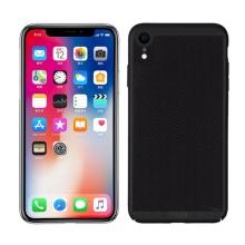 Kryt MOFi pro Apple iPhone Xr - perforovaný / s otvory - plastový - černý