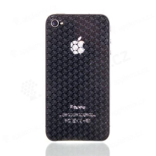 3D ochranná fólie pro Apple iPhone 4 / 4S (přední a zadní) - 6ti úhelníky