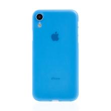 Kryt / obal pro Apple iPhone Xr - ochrana čočky - ultratenký - plastový - matný - modrý