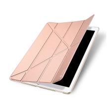 Pouzdro DUX DUCIS pro Apple iPad Pro 12,9 / 12,9 (2017) - funkce chytrého uspání + stojánek - Rose Gold