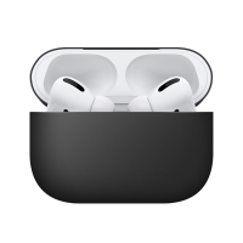 Pouzdro / obal BENKS pro Apple AirPods Pro - silikonové - černé