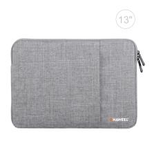 "Pouzdro se zipem HAWEEL pro Apple MacBook Air 13"" / Pro 13"" - postranní kapsa - šedé"
