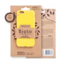 Kryt FOREVER BIOIO - pro Apple iPhone 6 / 6S - Zero Waste kompostovatelný kryt - žlutý