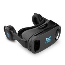 Virtuální brýle UGP U8 VR IMAX + sluchátka - černé