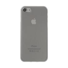 Kryt / obal pro Apple iPhone 7 / 8 - ochrana čočky - ultratenký - plastový - matný - šedý
