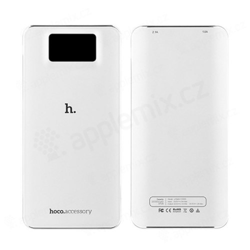 Externí baterie / power bank HOCO UPB05 10000mAh s 2x USB porty (1A, 2.1A)