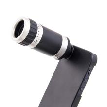 8x zoom teleobjektiv s ochranným krytem pro Apple iPhone 5 / 5S / SE