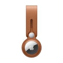 Originální kryt / obal APPLE pro Apple AirTag MX4A2ZM/A - kožený - sedlově hnědý