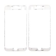 Plastový fixační rámeček pro přední panel (touch screen) Apple iPhone 7 - bílý - kvalita A