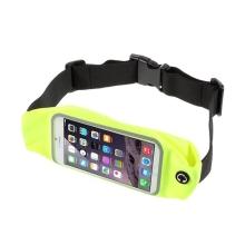 Sportovní ledvinka / pouzdro pro Apple iPhone 6 / 6S / 7 / SE (2020) - reflexní žlutá