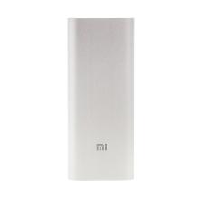 Externí baterie / power bank XIAOMI NDY-02-AL 16000mAh s 2x USB porty (5.1V, 3.6A max.) - stříbrná