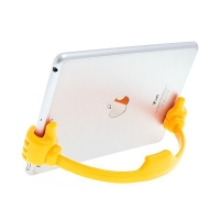 Flexibilní stojánek ruce pro Apple iPhone / iPad mini / iPod touch - oranžový