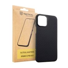 Kryt TACTICAL MagForce pro Apple iPhone 12 Pro Max - Aramidová vlákna - karbonový - černý