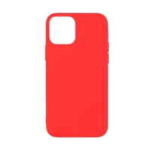 Kryt pro Apple iPhone 12 mini - gumový - červený