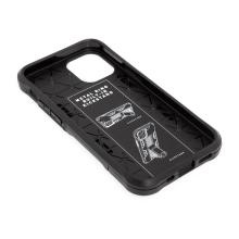 Kryt FORCELL Defender pro Apple iPhone 12 - plastový / gumový - černý