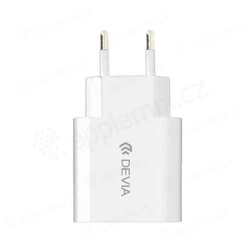 Nabíječka / EU napájecí adaptér DEVIA - 1x USB - 10,5W