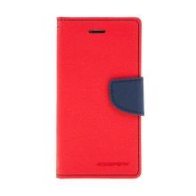 Pouzdro Mercury Goospery pro Apple iPhone 7 / 8 - stojánek a prostor pro platební karty - červeno-modré