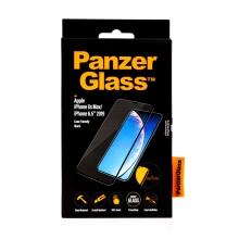 Tvrzené sklo (Tempered Glass) PANZERGLASS pro Apple iPhone Xs Max / 11 Pro Max - Case Friendly - černé - 0,4mm