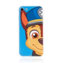 """Kryt """"Tlapková patrola"""" pro Apple iPhone 7 / 8 / SE (2020) - gumový - Chase - modrý"""