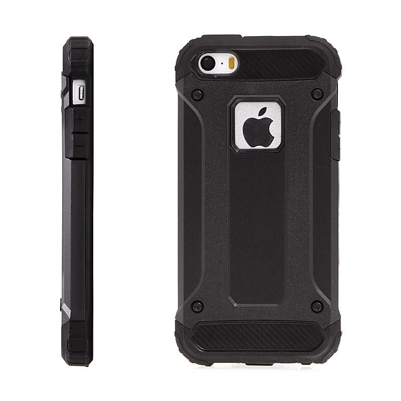 Kryt pro Apple iPhone 5   5S   SE - plasto-gumový   antiprachové záslepky 37588053115