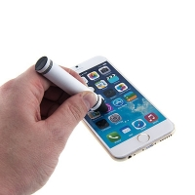 Silikonové dotykové pero / stylus pro Apple iPhone / iPad / iPod - tvar pastelka
