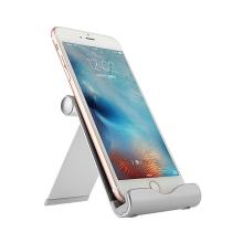 Stojánek BASEUS pro Apple iPhone / iPad / iPod - hliníkový stříbrný