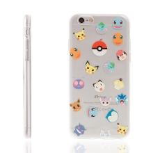Kryt pro Apple iPhone 6 / 6S gumový - Pokemon Go