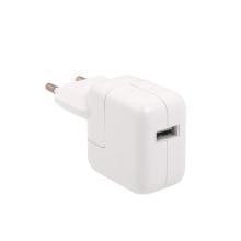 10W EU napájecí adaptér / nabíječka A1357 pro Apple iPad / iPhone / iPod - bílá