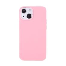 Kryt pro Apple iPhone 13 - gumový - růžový