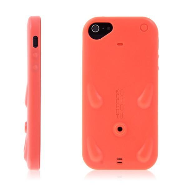 Ochranný gumový kryt pro Apple iPhone 5 / 5S / SE se stylusem /stojánkem - světle červený